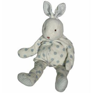 Bunnies By The Bay Polka Dot Baby Carrot Bunny